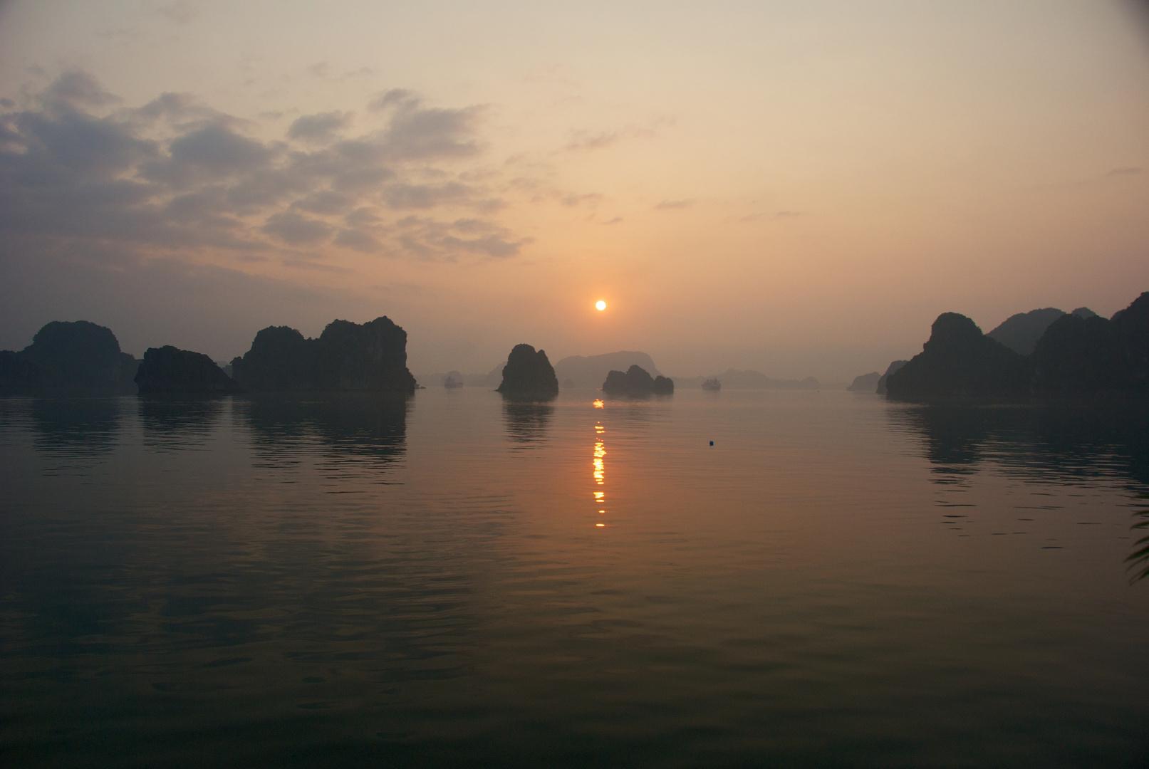 Sunset at Halong Bay #1 - Vietnam