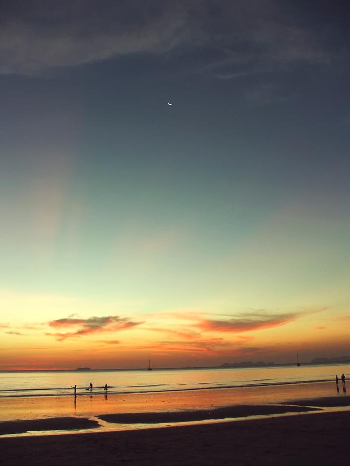 Sunset at Ko Lanta
