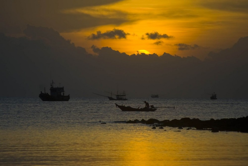 Sunset at Koh Ma