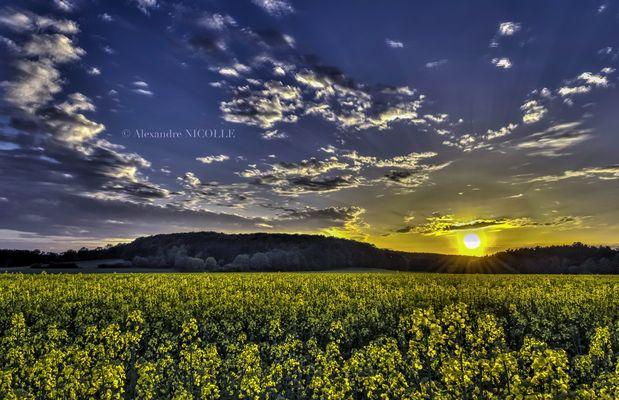Sunset at Lorraine