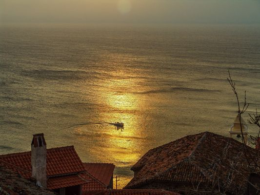 Sunset at Molyvos...