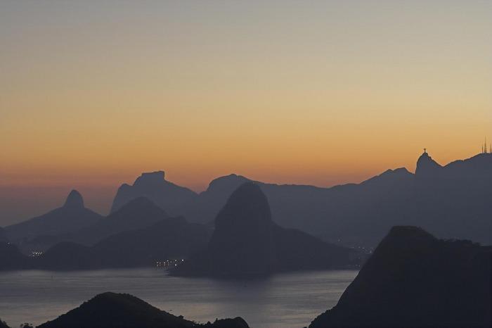 Sunset at Rio deJaneiro