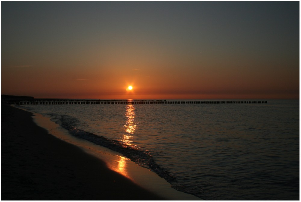 Sunset at the Eastern Sea