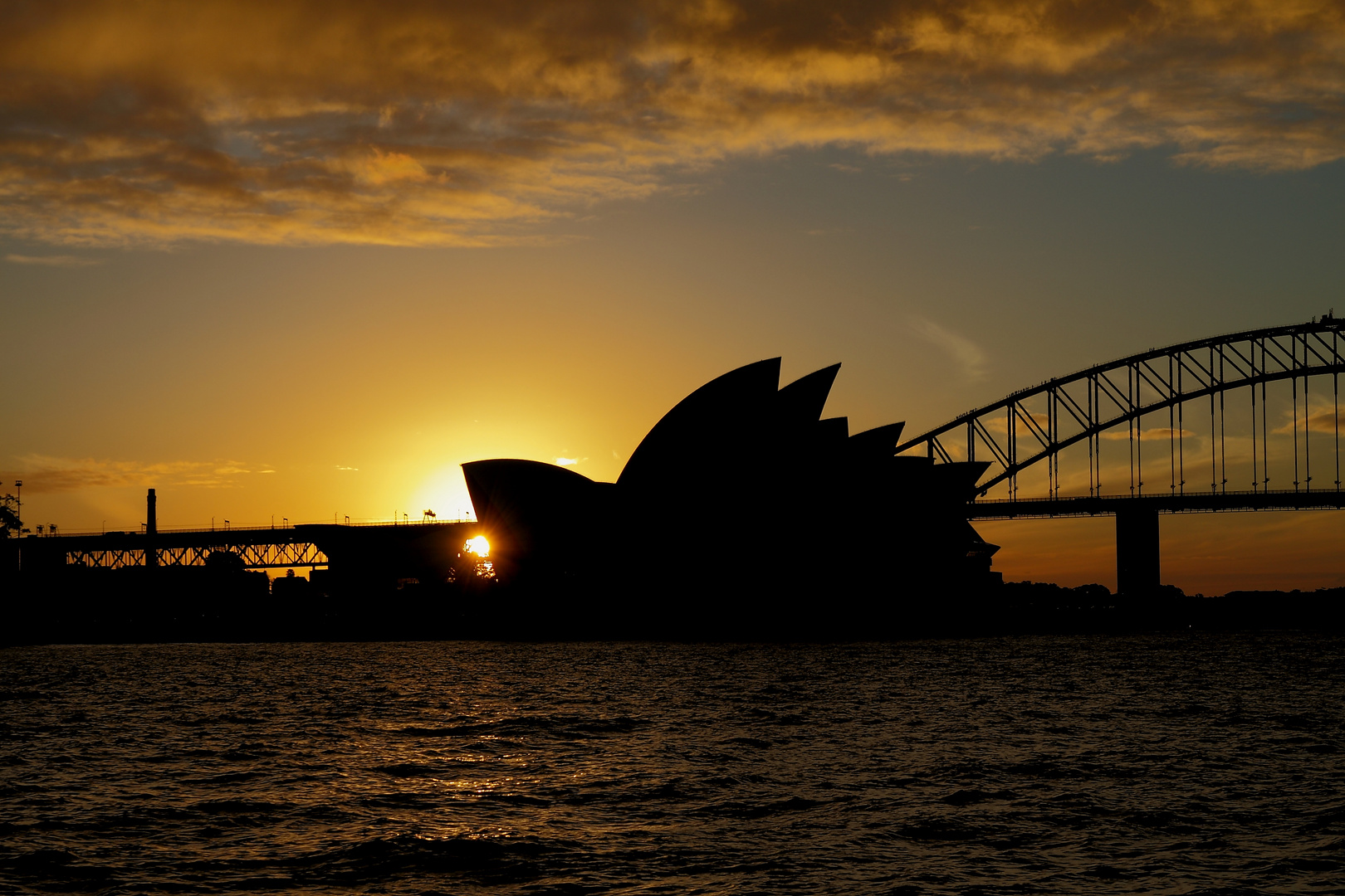 Sunset at the Opera
