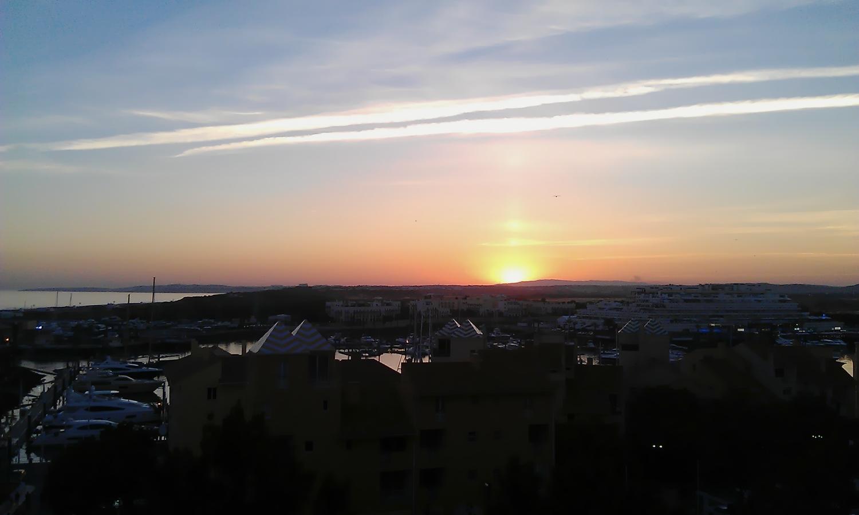 Sunset at Vilamoura