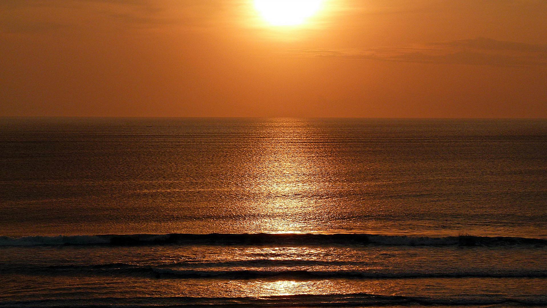 Sunset auf Bali