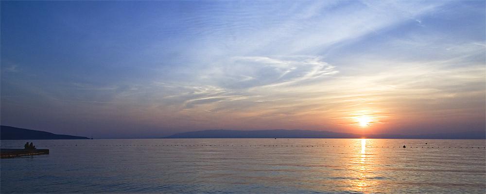Sunset auf Cres