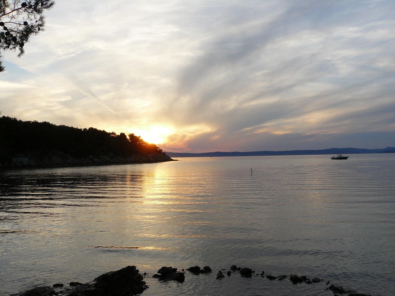 Sunset auf der Insel Rab