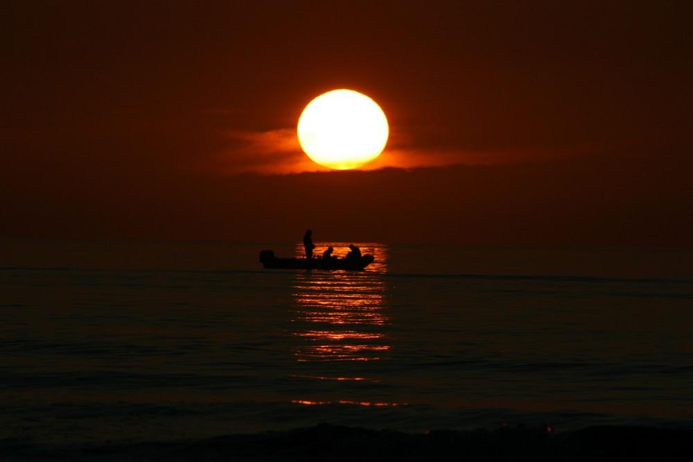 Sunset auf der Norderney