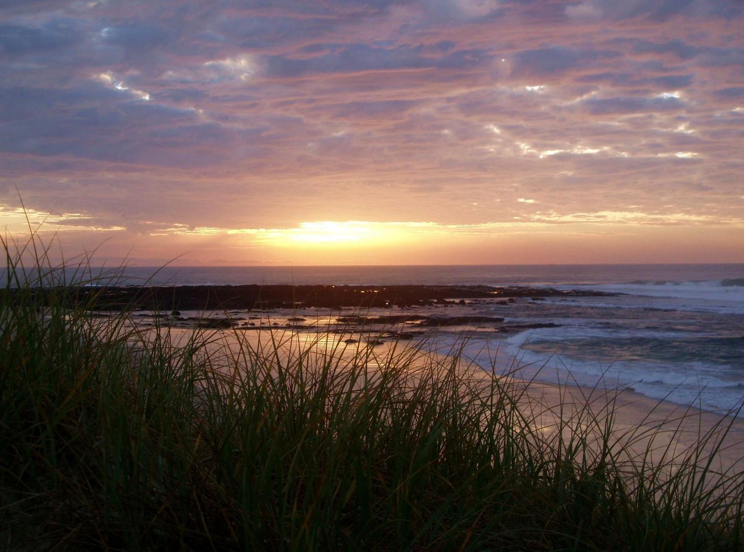 Sunset auf Fraser Island!
