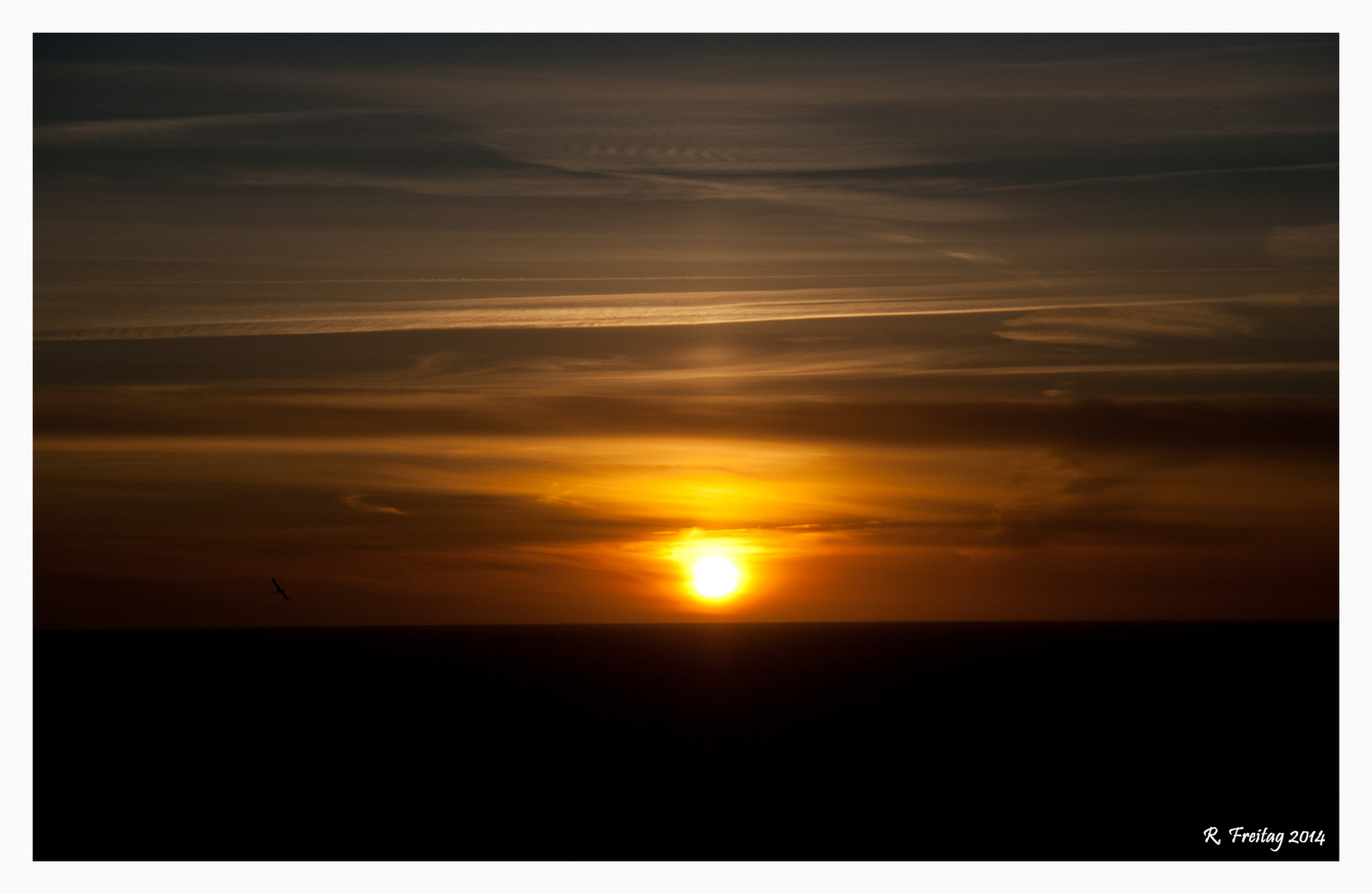 Sunset auf Helgoland (2)