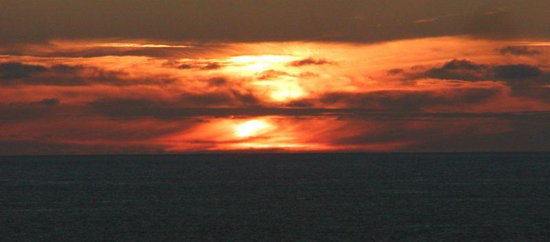 Sunset auf La Palma (Kanaren)