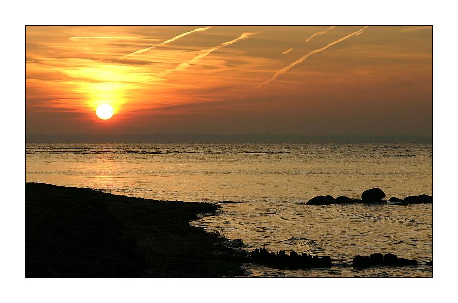 Sunset auf Poel