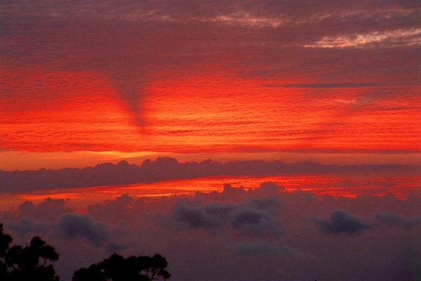Sunset auf Reunion