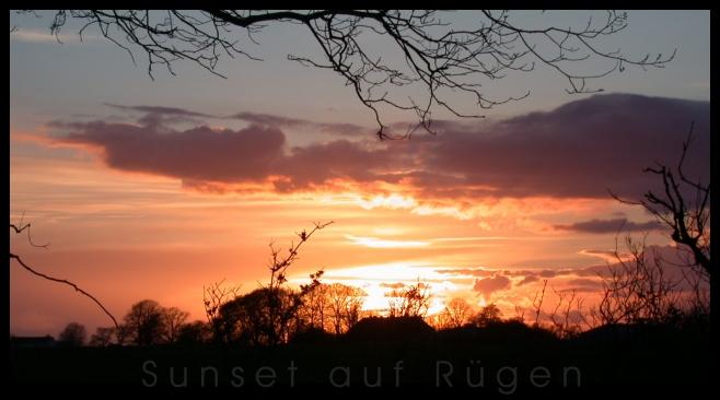 Sunset auf Rügen