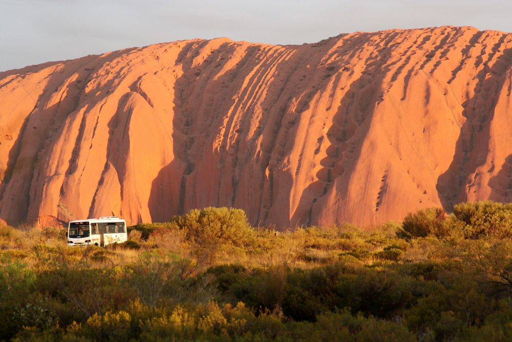 sunset Ayers Rock R-30