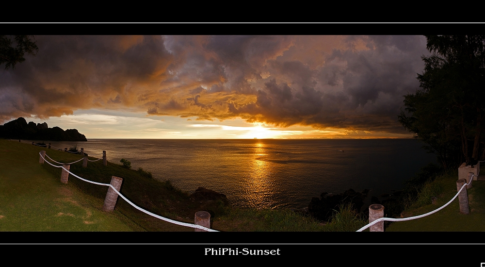 ...Sunset-Bar auf PhiPhi-Island (reloaded)...
