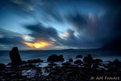 Sunset bei Elgol