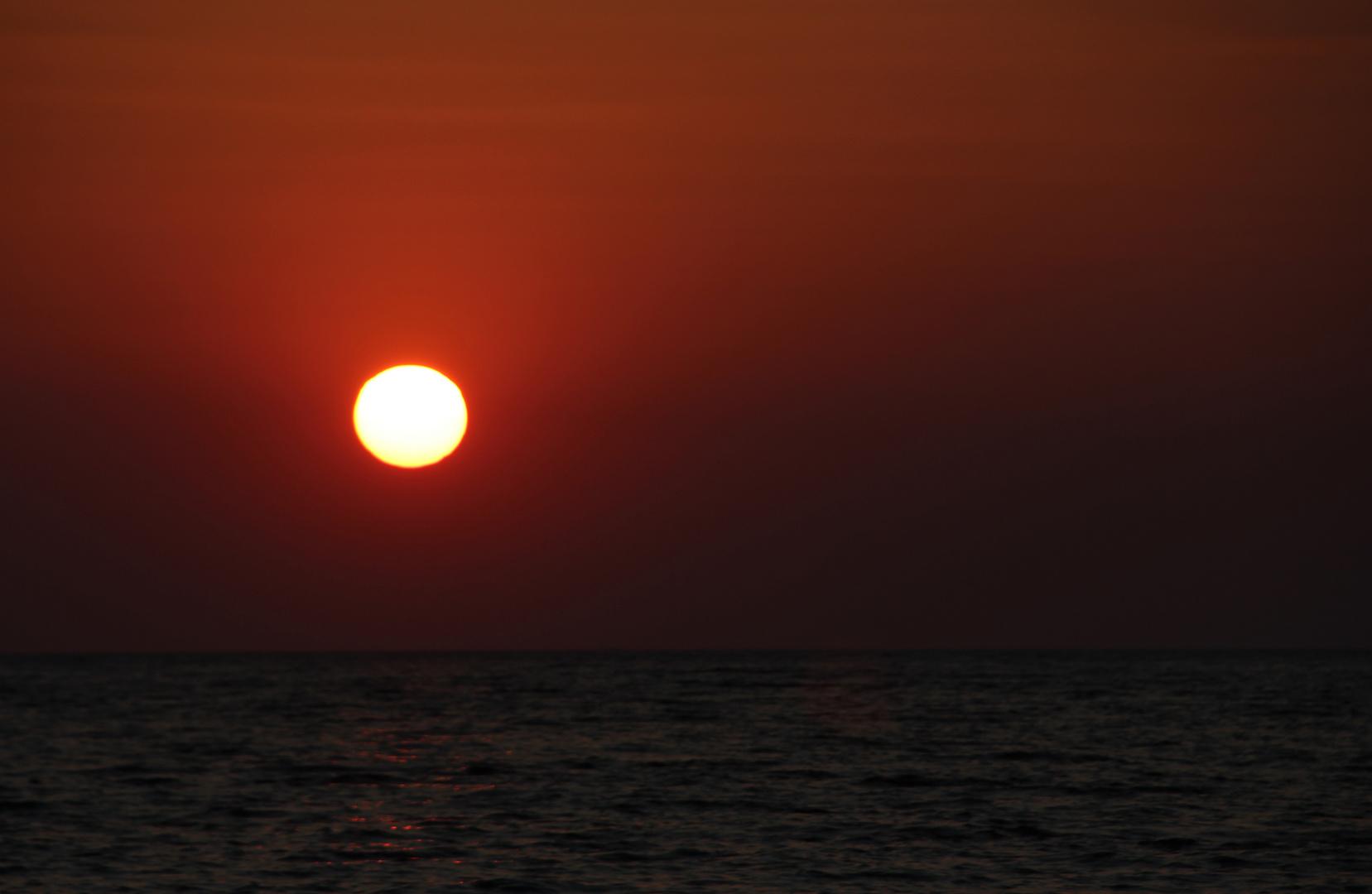 Sunset bei Kusadasi