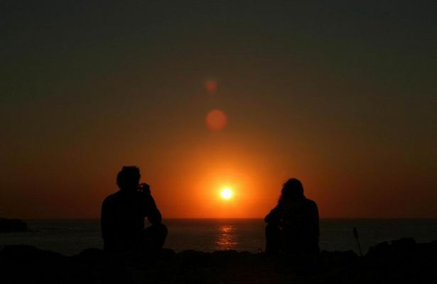 Sunset bei Peniche