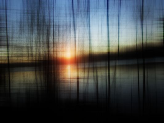 Sunset Blur