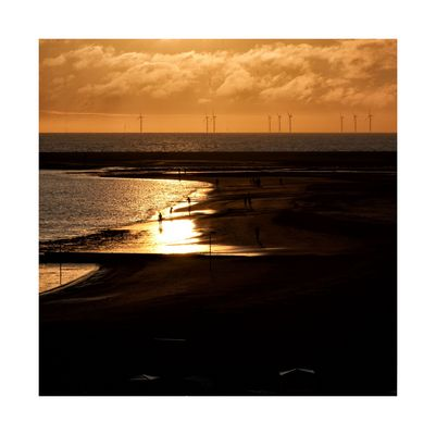 - sunset borkum -