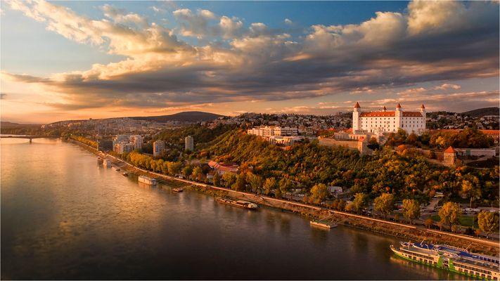 Sunset @ Bratislava