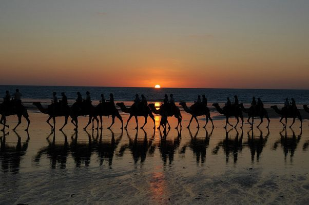 Sunset---Broome/Austr.