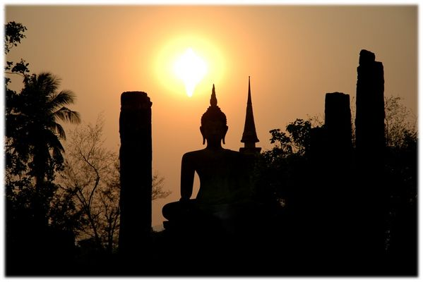 Sunset-Buddha
