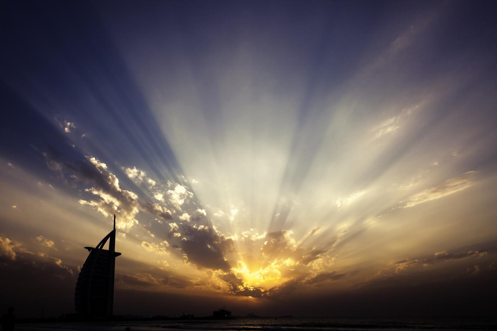 Sunset Burj al Arab
