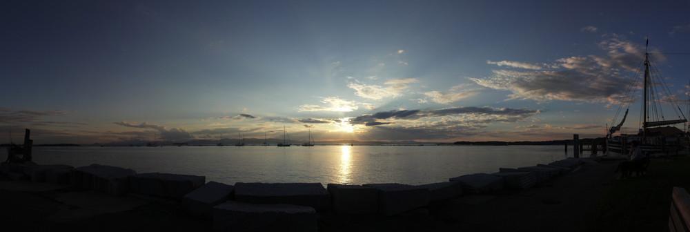 Sunset Burlington, VT