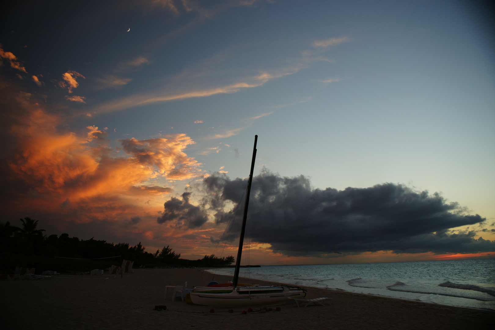 sunset by Varadero