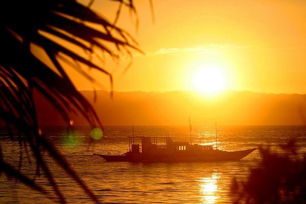 Sunset Cabilao Island