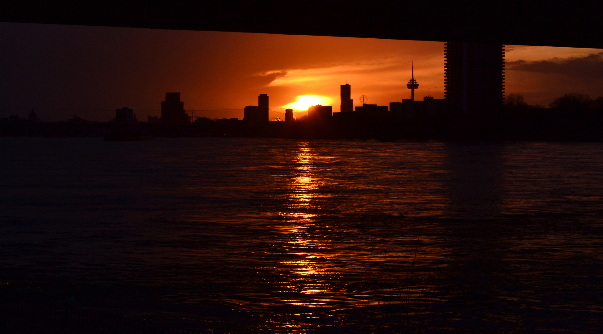 Sunset Cologne (2)