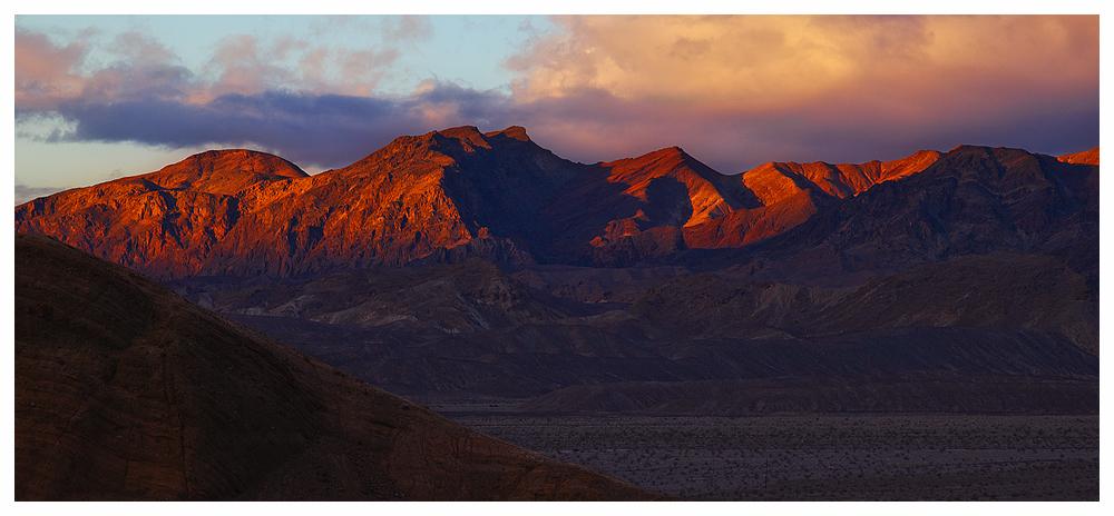 sunset @ Death Valley