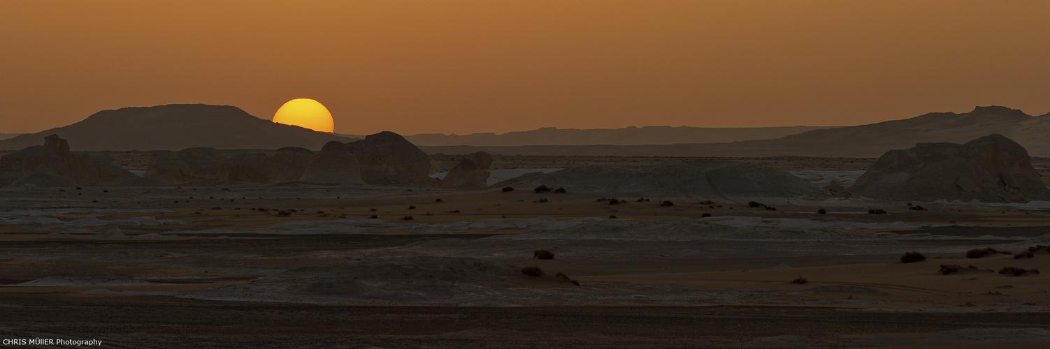 Sunset Desert...