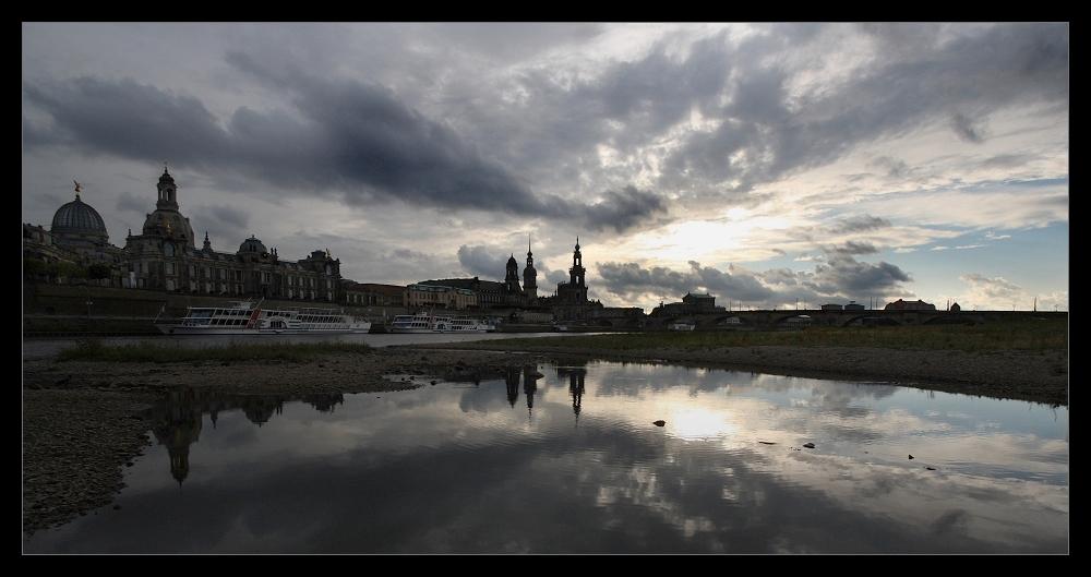Sunset - Dresden