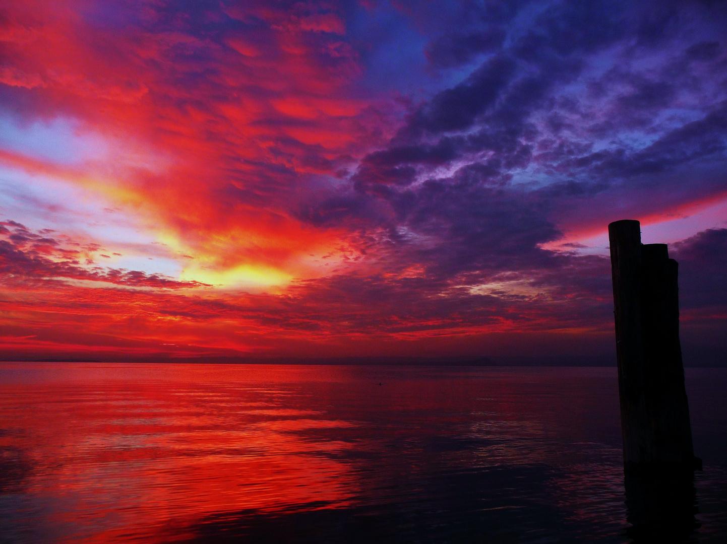 Sunset en Bardolino (2)