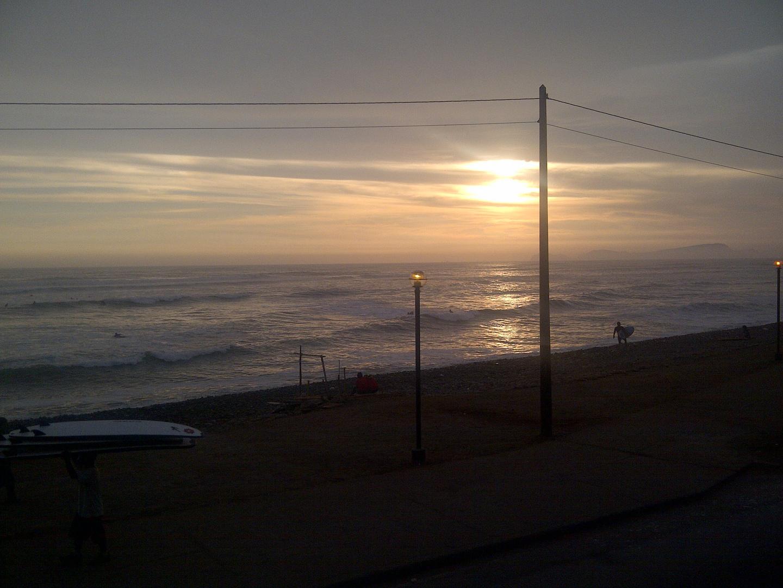 sunset. en. Makaha