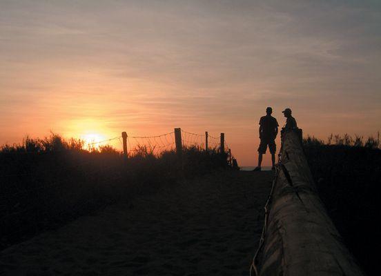 Sunset Fannie Bay - Darwin, Australien