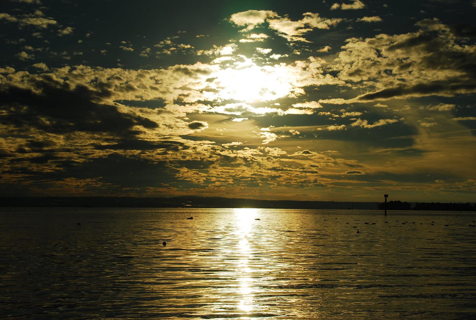 Sunset Friedrichshafen