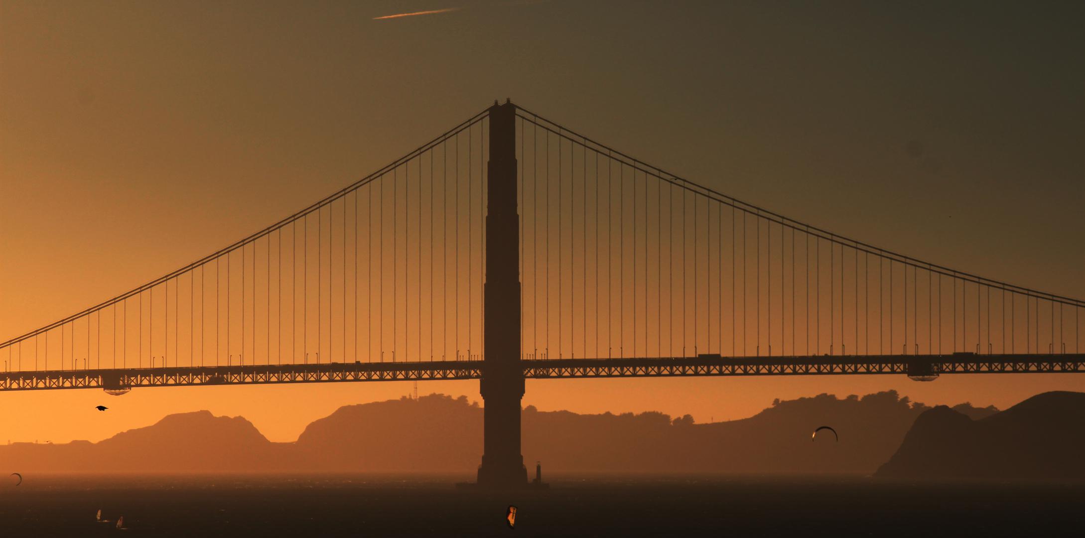 Sunset @ Golden Gate