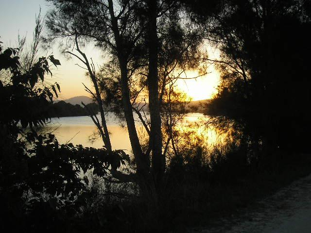Sunset, Goodwood Island