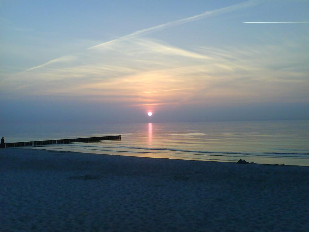 Sunset Graal-Müritz