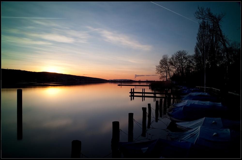 Sunset @ Greifensee