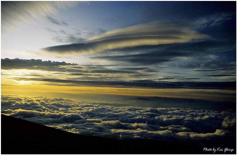 Sunset Haleakala Maui--Hawaii
