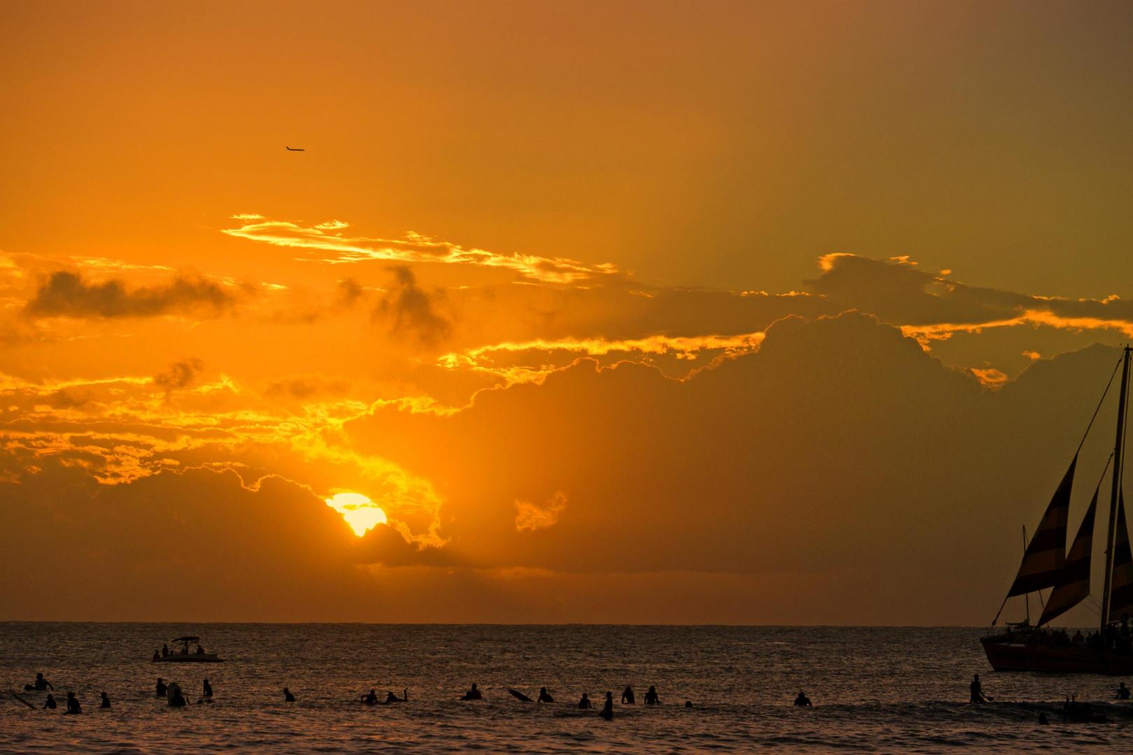 Sunset Honolulu
