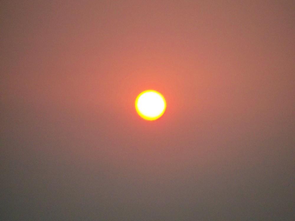 Sunset hot and wild