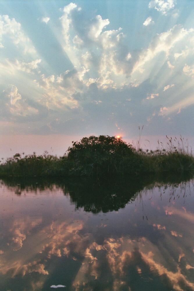 Sunset im Delta