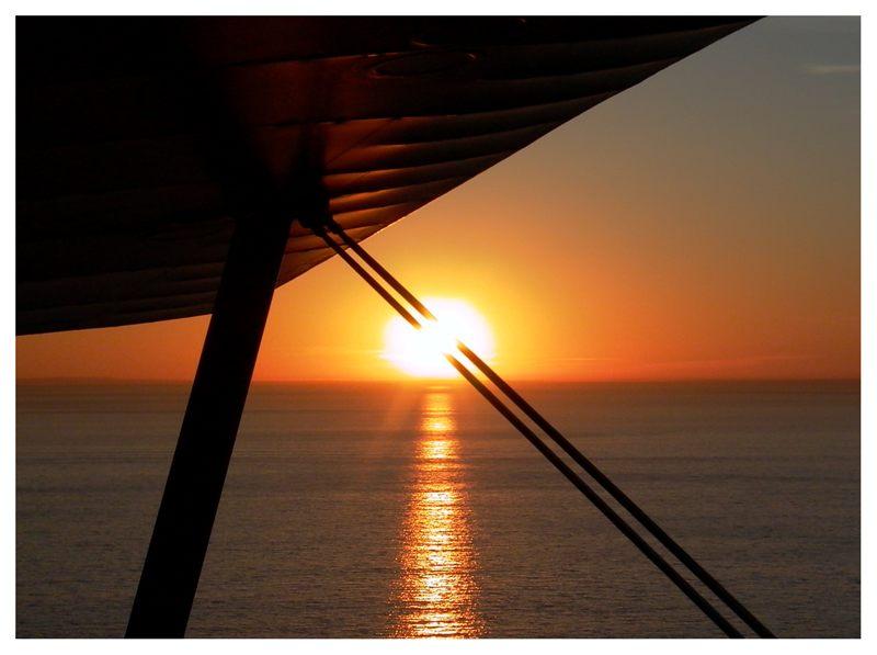 Sunset im Doppeldecker (#3)